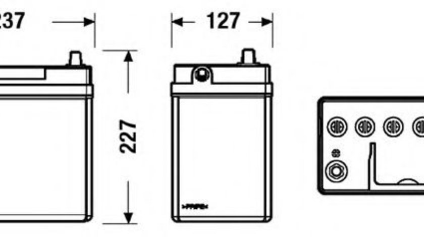 Baterie de pornire SUZUKI SWIFT II Hatchback (EA, MA) (1989 - 2005) EXIDE EB457 piesa NOUA