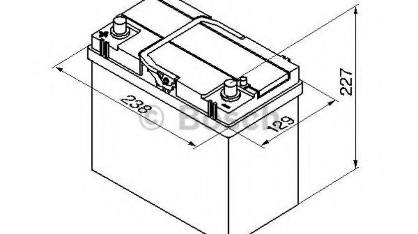 Baterie de pornire SUZUKI SWIFT II Hatchback (EA, MA) (1989 - 2005) BOSCH 0 092 S40 220 piesa NOUA