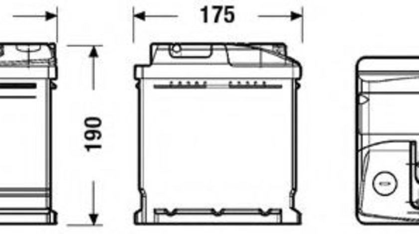 Baterie de pornire VW SHARAN (7M8, 7M9, 7M6) (1995 - 2010) EXIDE EC700 piesa NOUA
