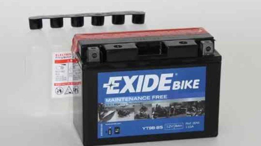 Baterie de pornire YAMAHA MOTORCYCLES YP EXIDE YT9B-BS