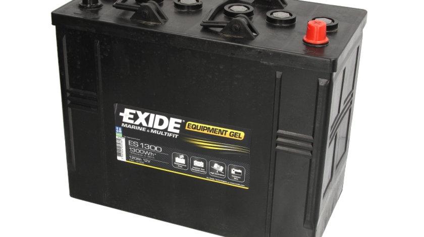 Baterie EXIDE 12V 120Ah GEL (R+ Borna standard) 350x175x290 B00 - fara flansa montare Aplicatii duale cod intern: CI9341CK
