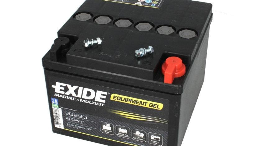 Baterie EXIDE 12V 25Ah GEL (R+ Borna cu filet) 165x175x125 B00 - fara flansa montare Aplicatii duale cod intern: CI9343CK