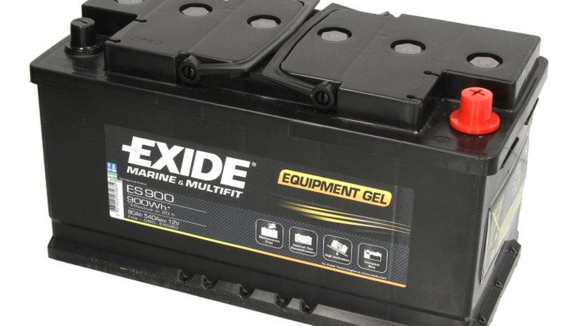 Baterie EXIDE 12V 80Ah GEL (R+ Borna standard) 350x175x190 B13 - flansa montare 10.5 mm Aplicatii duale cod intern: CI9353CK