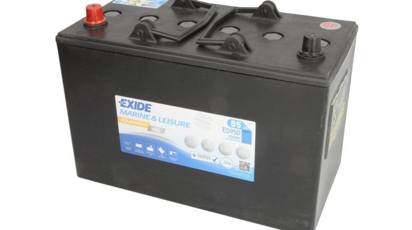 Baterie EXIDE 12V 85Ah GEL (L+ Borna standard) 350x175x235 B00 - fara flansa montare Aplicatii duale cod intern: CI9355CK