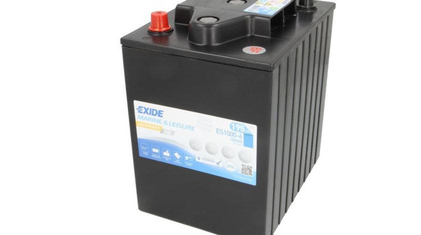 Baterie EXIDE 6V 200Ah GEL (R+ Borna cu filet insert) 245x190x275 B00 - fara flansa montare Aplicatii duale cod intern: CI9380CK