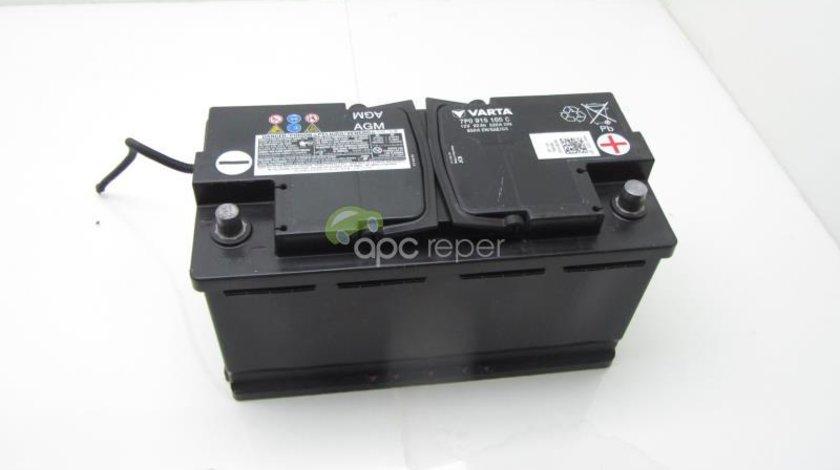 Baterie Originala 92Ah AGM Audi - VW AGM cod 7P0915105C 12V 92Ah