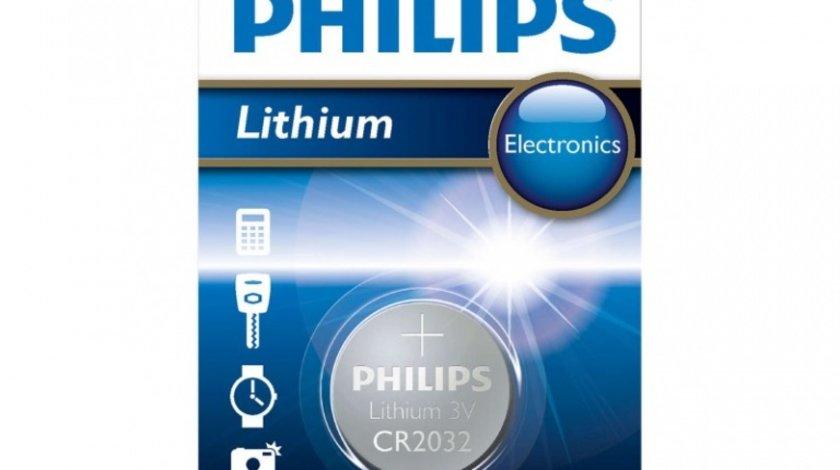 Baterie Philips Litiu CR2032/01B 3V