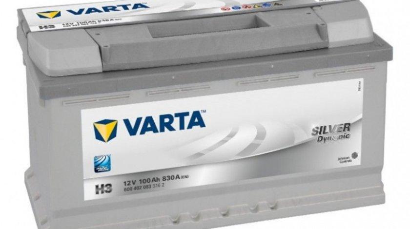 Baterie Varta Silver 100Ah H3 6004020833162