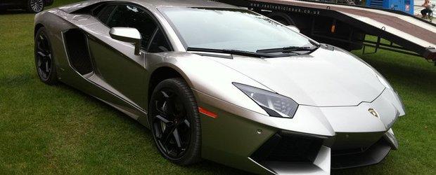 Batman primeste un Lamborghini Aventador