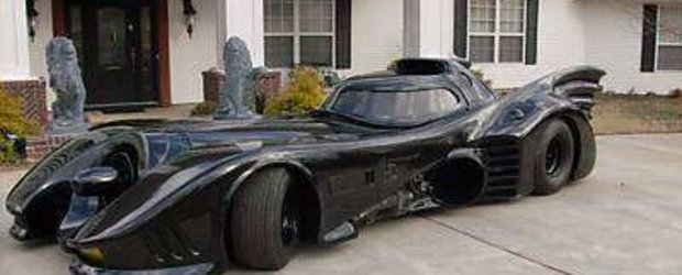 Batmobilul, de vanzare pe net