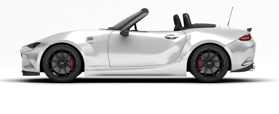 BBR se echipeaza cu spoilere, jante si cai putere pentru sosirea noii Mazda MX-5