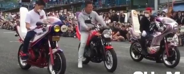 Beatbox cu motocicleta: concursul asta de 'muzica din evacuare' ne face ziua mai frumoasa