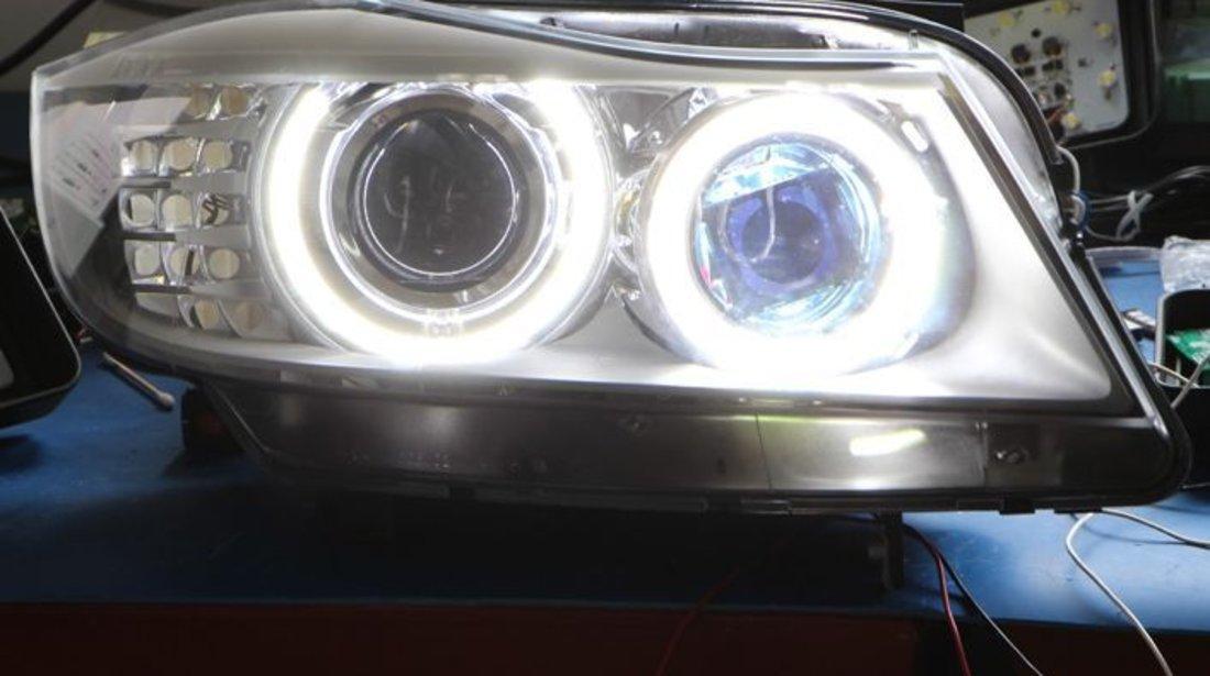BEC ANGEL EYES BMW E60 E70 X5 E71 X6 E82 E84 X1 E87 E90 E91 E92 E93 F01 H8 LED MARKER CEL MAI IEFTIN
