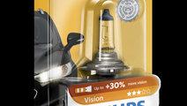 Bec auto cu halogen pentru far Philips H7 Vision +...