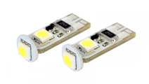 Bec auto led 3 SMD Can Bus Carguard 12V T10 W2.1x9...