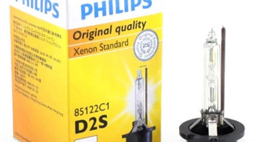 Bec auto Xenon pentru far Philips D2S , 85V, 35W, 4300k