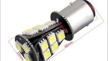 Bec BAY15D 18 LED LUX SMD 5730 doua faze CANBUS 24...