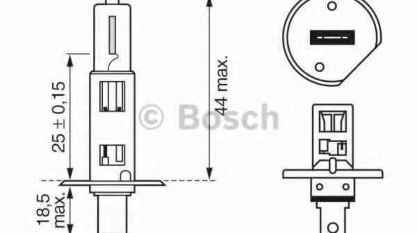Bec, far faza lunga AUDI 80 (8C, B4) Producator BOSCH 1 987 302 015