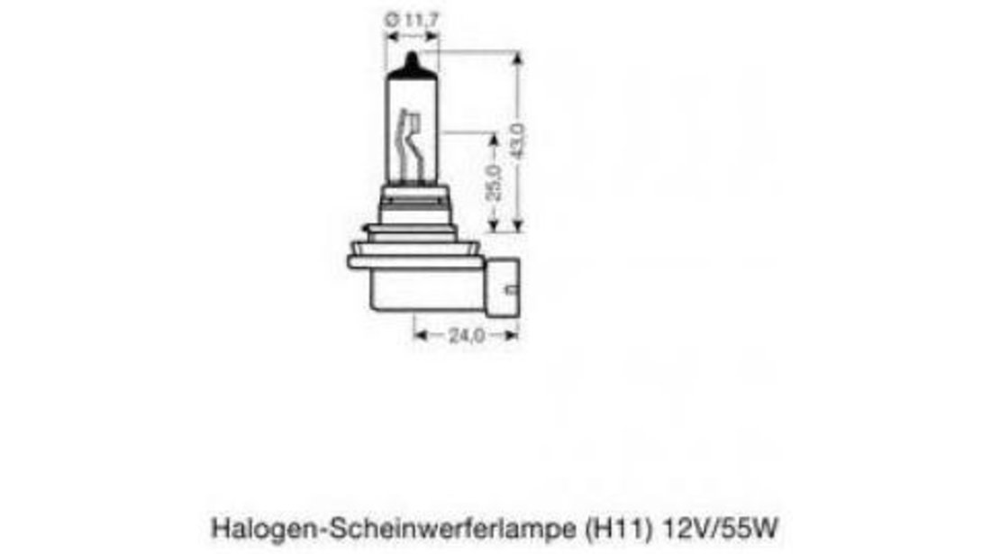 Bec far faza lunga Audi A3 (2004-2013) [8PA] #3 64211