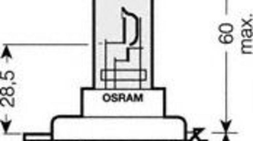 Bec, far faza lunga MITSUBISHI COLT V (CJ, CP) (1995 - 2003) OSRAM 64193ULT-HCB piesa NOUA
