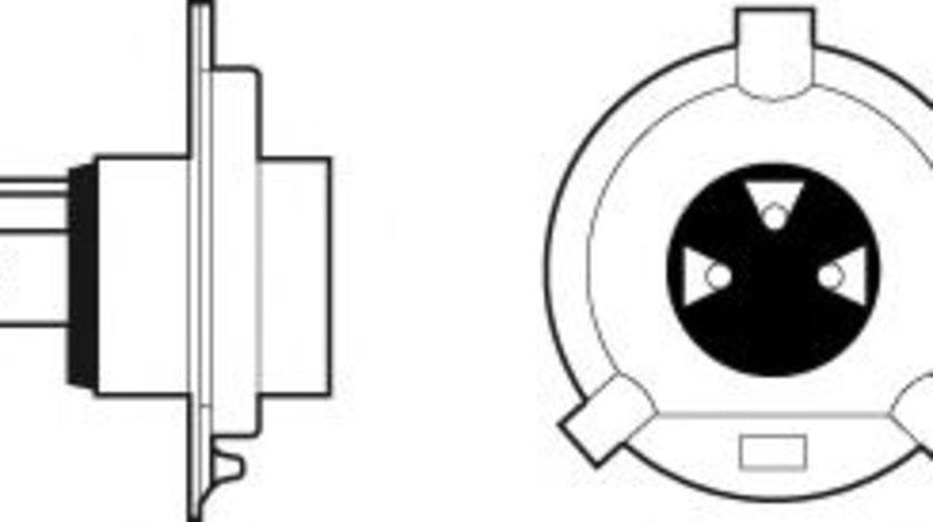 Bec, far faza lunga MITSUBISHI COLT V (CJ, CP) (1995 - 2003) VALEO 032513 piesa NOUA