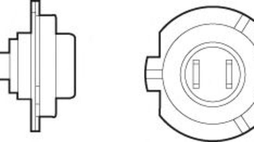 Bec, far faza lunga VW GOLF V (1K1) (2003 - 2009) VALEO 032521 piesa NOUA