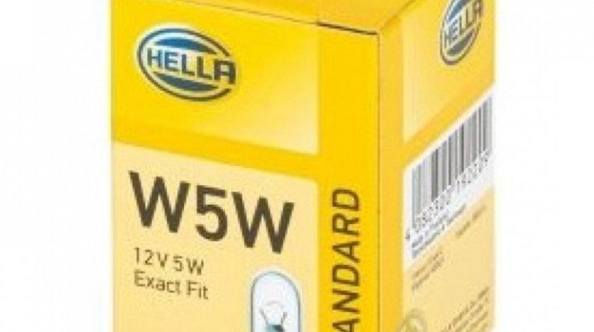Bec Hella W5W 12V 5W 8GP 003 594-121