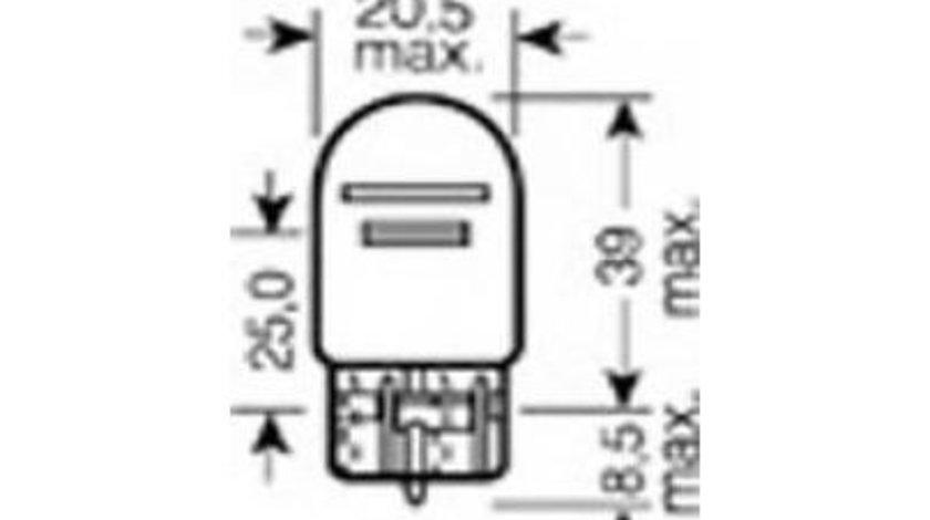 Bec, lampa frana / lampa spate Fiat 500 C (2009->) #3 7515