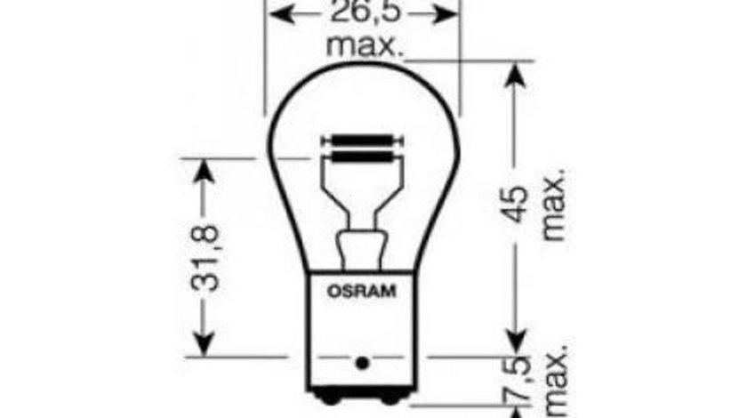 Bec, lampa frana / lampa spate Volkswagen Transporter T5 (2003-2015) #3 7225