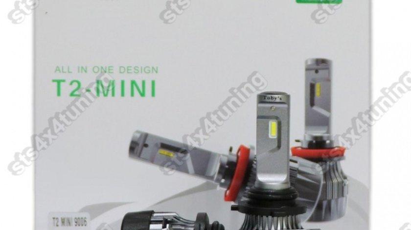 BEC LED HB4 9006 200W/8000LM [T2-MINI][2-BUC]