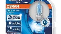 Bec Osram HB3 12V 60W Cool Blue Intense 9005CBIDUO...