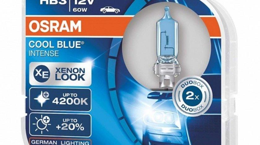 Bec Osram HB3 12V 60W Cool Blue Intense 9005CBIDUO Set 2 Buc