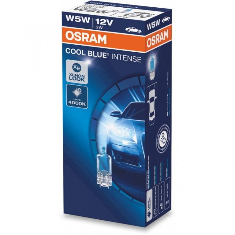 Bec Osram W5W 12V 5W Cool Blue Intense 2825HCBI