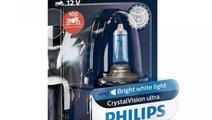Bec Philips H7 12V 55W Crystal Vision Ultra Moto 1...