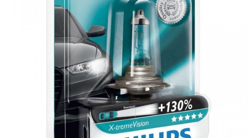 Bec Philips H7 12V 55W Xtremevision +130% 12972XV+B1