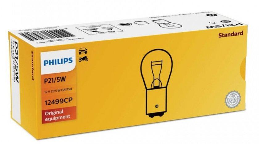 Bec Philips P21/5W 12V 21/5W 12499CP