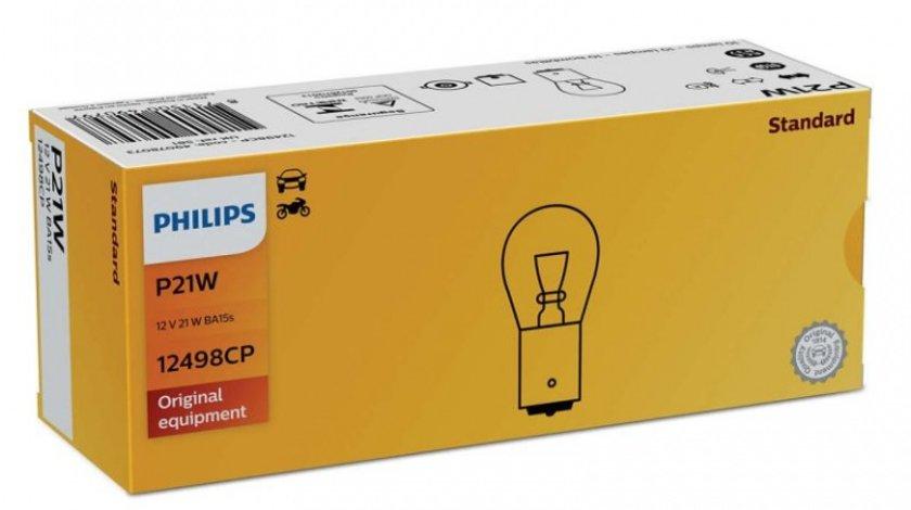 Bec Philips P21W 12V 21W 12498CP