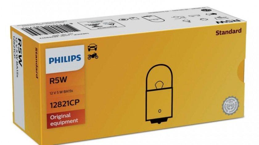 Bec Philips R5W 12V 5W 12821CP