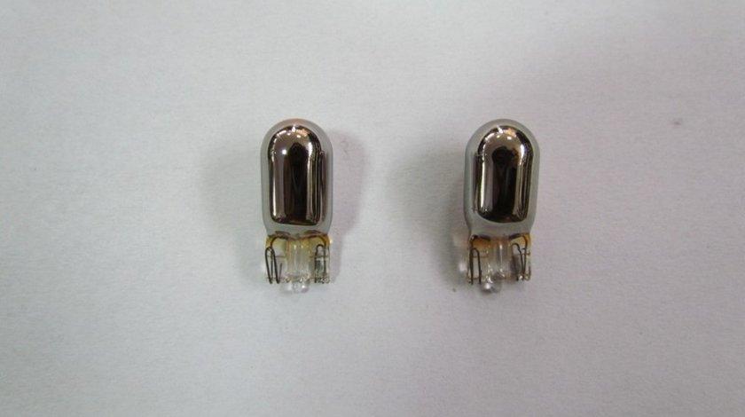 Bec pozitie Silver Vision Invisible culoare argintie (bec crom pozitie 002) (set 2 buc.) VistaCar