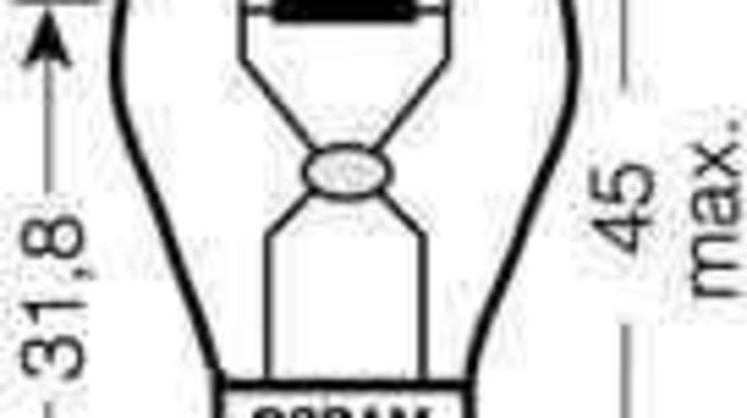 Bec, semnalizator AUDI 80 (8C, B4) Producator OSRAM 7507DC-02B