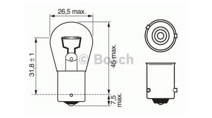 Bec semnalizator Audi A3 (2004-2013) [8PA] #3 1056