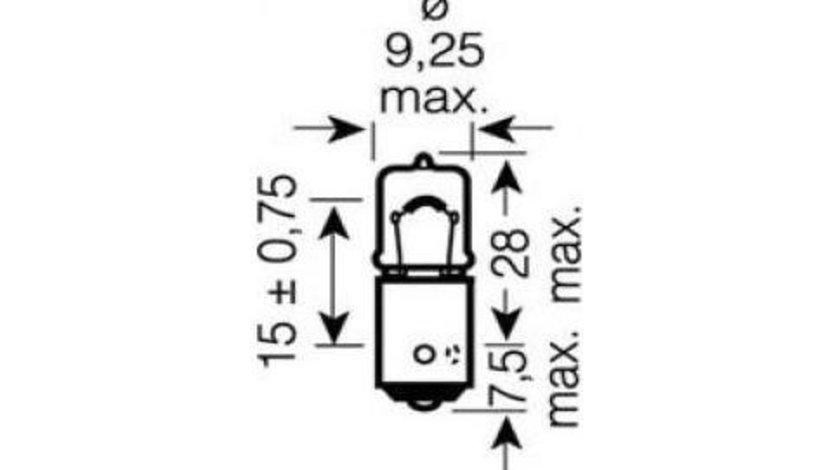 Bec semnalizator Audi A3 (2013->) [8VS,8VM] #3 64132ULT