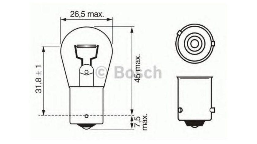Bec semnalizator BMW X5 (1999-2006) [E53] #3 1056