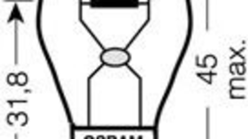 Bec, semnalizator SKODA RAPID (NH3) (2012 - 2016) OSRAM 7507DC-02B piesa NOUA