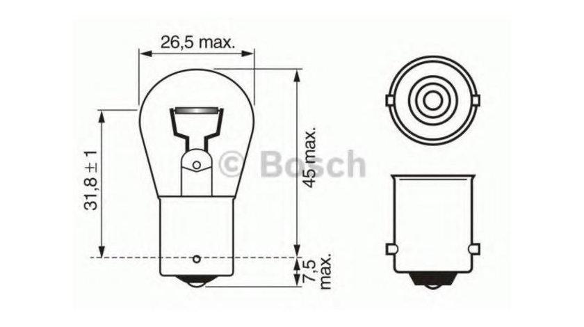 Bec semnalizator Volkswagen Passat B4 (1988-1996) #3 1057