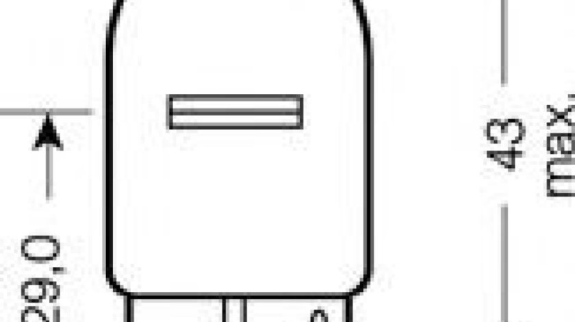 Bec, semnalizator VW PASSAT CC (357) (2008 - 2012) OSRAM 7505 - produs NOU