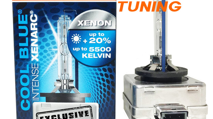 BEC XENON D1S OSRAM COOL BLUE INTENSE XENARC - 180 LEI BUCATA