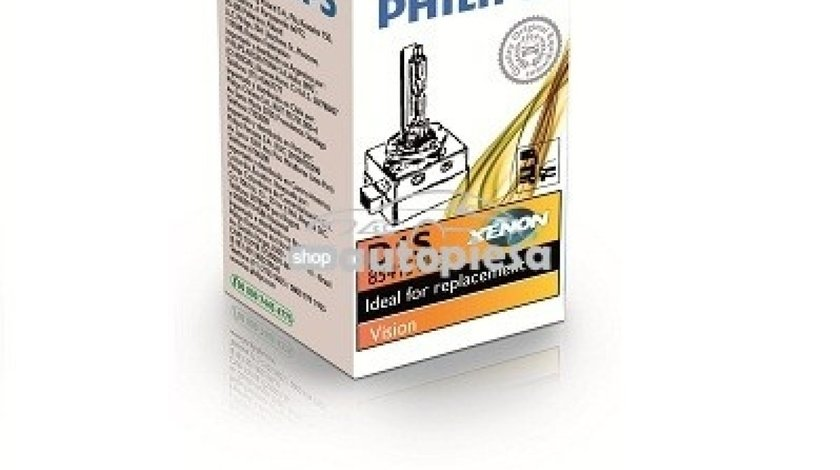 Bec Xenon Philips D1S Vision 85V 35W 85415VIC1 piesa NOUA
