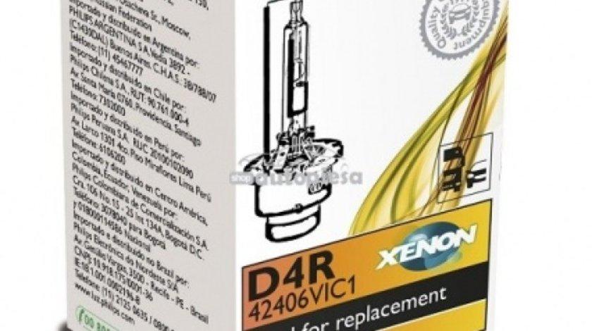 Bec Xenon Philips D4R Vision 85V 35W 42406VIC1 piesa NOUA