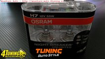 BECURI H7 OSRAM NIGHT BREAKER UNLIMITED - 89 LEI